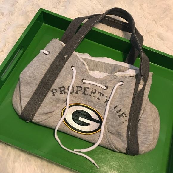 Handbags - 💚New💛 Green Bay Packers sweatshirt bag 2016de40e
